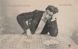 Cartes à Jouer : En Cinq Secs : N°5 ( .... Et Le Point De Refus, ça Fait Trois ) - Playing Cards