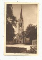 Cp , 39 , PORT LESNEY , L'église , Voyagée 1934 - Autres Communes