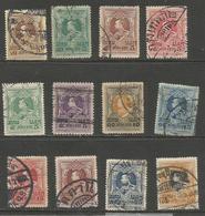 Thailand - 1920 King Vajiravudh Used    Sc 187-98 - Thaïlande