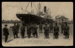 44 - Saint-Nazaire 129 Les Quais Au Débarquement Des Troupes Anglaises 1914 #06825 - Saint Nazaire