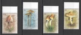 S063 2009 GRENADA CARRIACOU NATURE FLORA NATURE MUSHROOMS #4504-07 SET MNH - Mushrooms