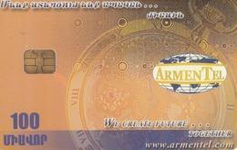 ARMENIA - Treasures Of Etchmiadzin 3, ArmenTel Telecard 100 Units, Sample No CN - Armenië
