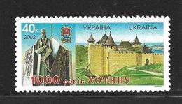 UKRAINE 2002 KHOTINE  YVERT N°479  NEUF MNH** - Ukraine