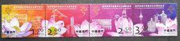 Macau/Macao 2004 The 5th Anniversary Of Macao Special Administrative Region Stamps 4v MNH - 1999-... Speciale Bestuurlijke Regio Van China