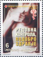 Ref. 219872 * NEW *  - MACEDONIA . 2006. FIGHT CANCER WEEK. SEMANA DE LA LUCHA CONTRA EL CANCER - Macedonia