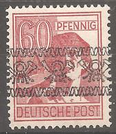 49 I A - Postfrisch - Gepr. BPP Schlegel - American/British Zone