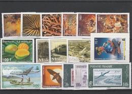 LOT 1526  POLYNESIE FRANCAISE  N° 906 à 915-928 à 933 ** - French Polynesia