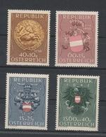 Mi. Nr. 937 - 940  Postfrisch - 1945-60 Ungebraucht