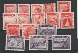 Mi. Nr. 838 - 853   Postfrisch - 1945-60 Ungebraucht