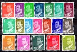 Serie De España 19 Valores FÓSFORO ** - 1931-Hoy: 2ª República - ... Juan Carlos I