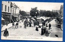 Châlon Sur Saone  -  Le Marché De La Place De Beaune - Chalon Sur Saone