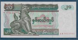 Myanmar - 20 Kyats - Pick N°72 - SUP - Myanmar