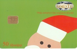 ARMENIA - Happy New Year 2,Santa Claus, ArmenTel Telecard 50 Units, Tirage %50000, Sample No CN - Armenia