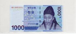 COREE Du SUD / Superbe Billet De 2007 UNC N° 54 Du Paper Money - Corée Du Sud