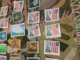 USA AMERICA BANDIERA FLAG - Francobolli
