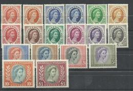 RHODESIA NYSALAND  YVERT 1/15  MNH Y MH   (**  *) - Rodesia & Nyasaland (1954-1963)