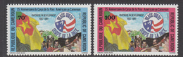 1986 Cameroun 25th Anniv American Peace Corps Set Of 2 MNH - Cameroon (1960-...)