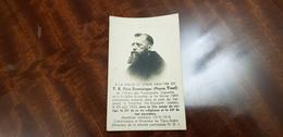 """Carte Mortuaire """"Le Père Dominique """" Aumonier Militaire 1914-18 - Personaggi"""