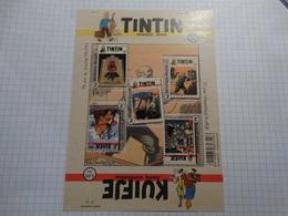 Belgié-Belgique 2016 -BL - 70 Ans Du Journal Tintin- Hergé.Neuf** - Philabédés (cómics)