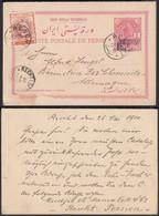 PERSE / IRAN 1910 Entier De RESCHT Vers Allemagne (DD) DC-0588 - Iran