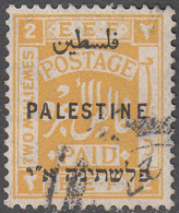 PALESTINE       SCOTT NO. 49       USED      YEAR  1922    WMK 4 - Palestine