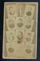 Photo-montage CDV Originale 1865 Champs-Elysees Folies-Marigny Theatre  CDV18 - Célébrités