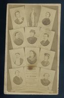 Photo-montage CDV Originale 1865 Champs-Elysees Folies-Marigny Theatre  CDV18 - Famous People