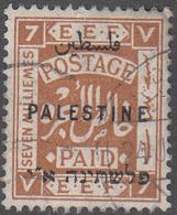 PALESTINE       SCOTT NO. 54       USED      YEAR  1922    WMK 4 - Palestine