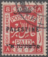 PALESTINE       SCOTT NO. 55       USED      YEAR  1922    WMK 4 - Palestine