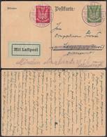 CP Allemande En Poste Aérienne 1925 Gorlitz Vers Tirol Autriche (DD) DC0511 - Non Classés