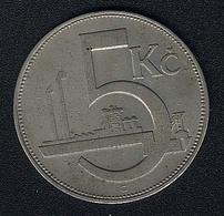 Tschechoslowakei, 5 Korun 1925 - Tschechoslowakei