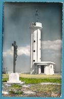 CAYEUX-SUR-MER - Le Phare Du Hourdel - Photo Véritable Colorisée Circulé 1959 - Cayeux Sur Mer