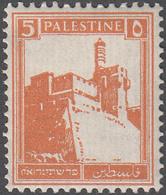 PALESTINE       SCOTT NO. 67       MINT HINGED      YEAR  1927 - Palestine