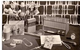 PK - Interieur Jaren 60 - Radio - Cartes Postales