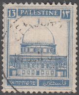 PALESTINE       SCOTT NO. 74       USED      YEAR  1927 - Palestine