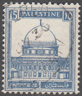 PALESTINE       SCOTT NO. 76       USED      YEAR  1927 - Palestine