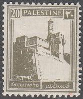 PALESTINE       SCOTT NO. 77       MINT HINGED      YEAR  1927 - Palestine