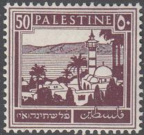 PALESTINE       SCOTT NO. 78      MINT HINGED      YEAR  1927 - Palestine