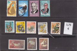 Namibia  S.W.A.-  Lote  12  Sellos Diferentes -  11/102068 - Namibia (1990- ...)