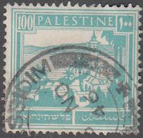 PALESTINE       SCOTT NO. 80     USED     YEAR  1927 - Palestine