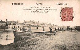 7702  -2018    BRIARE   LARDERAU - SARON  MARCHANDDE POTERIES PAR BATEAUX - Briare