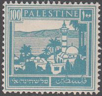 PALESTINE       SCOTT NO. 80     MINT HINGED      YEAR  1927 - Palestine