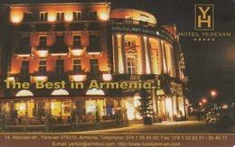 ARMENIA - Hotel Yerevan, ArmenTel Telecard 50 Units, Exp.date 31/12/06, Sample No CN - Arménie