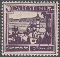 PALESTINE       SCOTT NO. 81     MINT HINGED      YEAR  1927 - Palestine