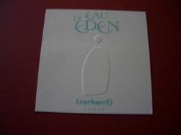 Carte Cacharel Eau D'Eden - Perfume Cards