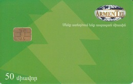 ARMENIA - Happy New Year 1,Christmas Tree, ArmenTel Telecard 50 Units, Tirage 20000, Sample No CN - Armenië