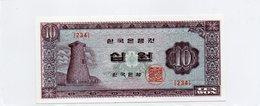 COREE Du SUD / Superbe Billet De 1962 / 65 UNC N° 33 Du Paper Money - Corea Del Sur