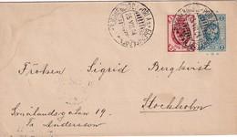RUSSIE 1904   ENTIER POSTAL/GANZSACHE/POSTAL STATIONERY  LETTRE DE BJÖRNEBORG/PORI - 1857-1916 Imperio