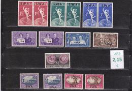 Namibia  S.W.A.-  Lote  15   Sellos Diferentes   -  11/102134 - Namibia (1990- ...)