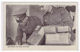 Dt- Reich (006022) Propagandakarte Das Paket Mit Dank Erhalten, Gelaufen Mit Feldpost  Am 27.2.1940 FPNR 01105 - Allemagne